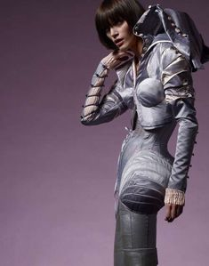 60 Sci-Fi Futuristic Fashion Pieces - From Iconic Sci-Fi Character Tights to Robot Gowns (TOPLIST)