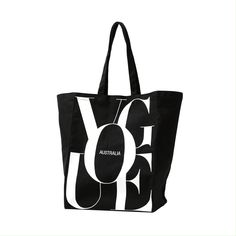 Vogue - The only source for fashion, style and beauty Vogue Australia, Black Canvas, Fashion News, Logo Design, Reusable Tote Bags, Fiji, Room Decor, Accessories, Products