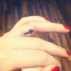 The most important relationship you can have is with God #tattoo #ringfinger