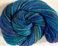Handspun yarn merino silk 4ozs 500 yards fingering weight