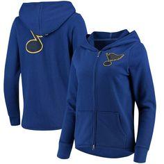 c63f2962b St. Louis Blues Touch by Alyssa Milano Women s Tackle Full-Zip Hoodie -  Blue. HoodiesSweatshirtsBluesTouch ...