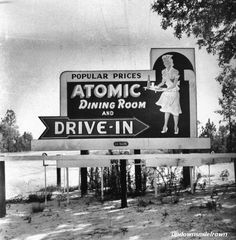 Atomic Dining Room and Drive-In  Augusta, Georgia, 1952