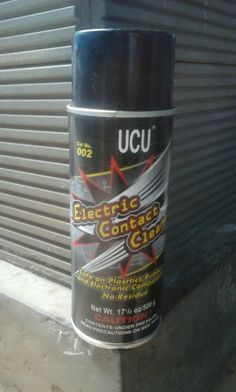 Ucu.002.Electric Contact Cleaner
