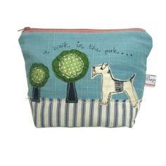 Poppy Treffry big make up bag - dog  Cath Kidston! She is geat!