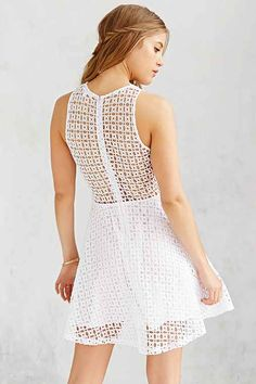 I'm so in love with this BB Dakota Danica Eyelet dress on sale for $79.99 at Urban Outfitters