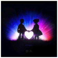 """Super #coolstuff #collaborationart @chuckpcomics: """"K I S M E T. . chuckpcomics  @badbugs_art . . . #love #outterspace #cosmos #nasa #negativespace #heart #inlove #cute #couplegoals #silkscreening #chicagoartists #planets #tshirt #tshirtdesign #grahicdesign #design #apparel #appareldesign #instaart #instaartist #artistsoninstagram #threadless @threadless #artistsofinstagramshouts #gallerywall #spaceeffect - http://ift.tt/1Ogt3bY #art #design"""