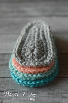 Make your own creations with this basic baby sole pattern | Whistle and Ivy