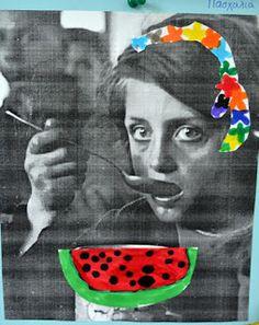 ΠΡΩΤΟ ΟΛΟΗΜΕΡΟ ΝΗΠΙΑΓΩΓΕΙΟ ΚΕΡΑΤΣΙΝΙΟΥ: 28η Οκτώβρη 1940 28th October, Lunch Box, Collage, School, Collages, Schools, Collage Illustration, Colleges