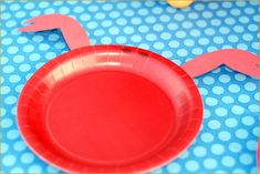 For a beach-themed party... some cute little crab plates, and add a tail to some colored plates for fish! CUTE!