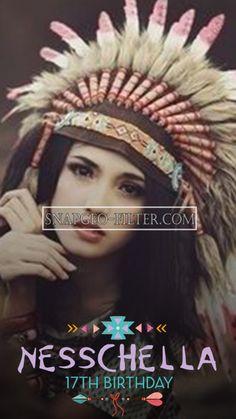 American indian | Snapchat filter | COACHELLA SNAPCHAT FILTER