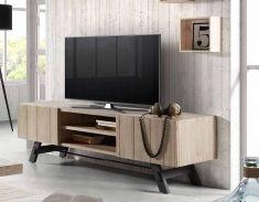 mesas para television de madera coleccion vita grande
