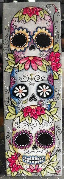 132 best images about sugar skulls on Pinterest