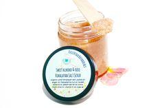 Sweet Almond & Rose Himalayan Salt Scrub, body scrub, exfoliating scrub, hand and foot scrub, hydrating scrub, exfoliant
