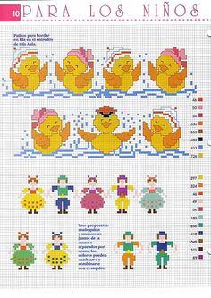 Cross Stitch For Kids, Cross Stitch Baby, Christmas Embroidery Patterns, Hand Embroidery Patterns, Cross Stitch Designs, Baby Bibs, Pet Birds, Needlework, Pattern Design