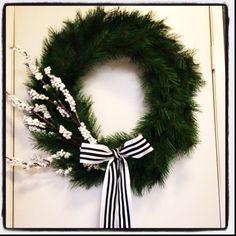 My indoor wreath.