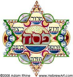 magen art | Safed-Tzfat-Zefat: Magen David Series (Hebrew Art) - Adam Rhine