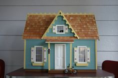 Seaside Beach Dollhouse by tortoisethreads on Etsy, $400.00