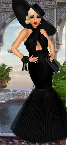 Mannequin has put together an elegant outfit for her diva. Dress Up Games | Diva Chix