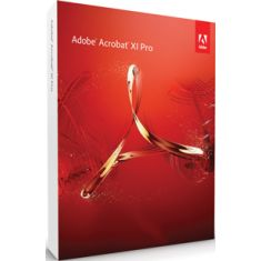 Adobe Acrobat XI Professional  Quickly convert any document, image, or scan into a PDF file that anyone can open and view using free Adobe Reader. ave PDFs as Microsoft Office files. Preserve fonts, formatting, and layouts, too. Fix a typo, change a font, or add a paragraph to your PDF as easily as you do in other applications using a new point-and-click interface. - See more at: http://www.aisplstore.com/adobe-acrobat-xi-professional.html#sthash.IeiZCIQ3.dpuf