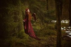 "elvenforestworld:  ""  lovely Leila Lunatic / MUA Wiete Dankov  by AU-CONTRAIRE PHOTOGRAPHY  """
