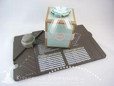 Stampin Up Demotreffen Geschenk Verpackung Punch Board Kaffeebecher Coffee to Go Blumen Geburtstagskracher 20