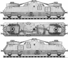 German Heavy Armoured Train