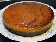 Receita Sobremesa : Bolo-pudim de laranja e café de LadoMaisSaboroso