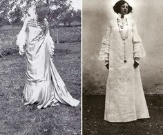Emilie Flöge, one of the first woman to be a fashion designers and one of Gustav Klimt best friend. Love her dresses.