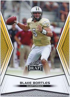 Blake Bortles Jacksonville Jaguars 2014 Leaf Draft (Gold) Card #78 Jacksonville Jaguars Football, Football Cards, Baseball Cards, Blake Bortles, Nfl, Sports, Soccer Cards, Hs Sports, Sport
