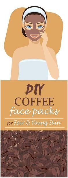5 Homemade (DIY) Coffee Face Packs for Fair and Young Skin - Acne Treatment Best Homemade Face Mask, Homemade Face Pack, Best Face Mask, Face Masks, Face Cleaning Routine, Oily Skin Treatment, Mask For Oily Skin, Coffee Face Mask, Glowing Face