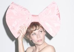 Big pink bow #flashesofdelight