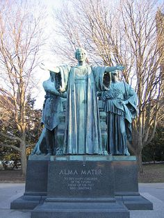To thy happy children of the future, those of the past send greetings. University of Illinois Alma Mater