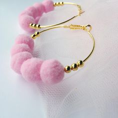 Check out this item in my Etsy shop https://www.etsy.com/listing/520353376/gold-tone-hoop-earrings-with-beads-and