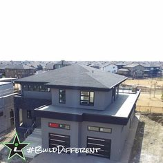 #BuildDifferent can be business in the front and a great view in the back.  #YQR #ModernHome #CustomBuild #CustomHomes #quality #modern #original #home #design #imagine #creative #style #realestate #trueoriginal #dreamhome #architecture #dreamhomes #interior #YQRbuilds #construction #house #builder #homebuilder #showhome #beautiful #preparation #dream #DamnGoodHouses