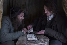 Still of Enzo Cilenti and Paul Kaye in Jonathan Strange & Mr Norrell (2015)
