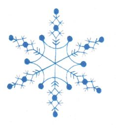 Snowflakes is a very fun and modern set of snowflake embroidery designs that would be great for linens, tree skirts, stockings and so much Snowflake Embroidery, Christmas Embroidery, Hand Embroidery Patterns, Cross Stitch Embroidery, Machine Embroidery Designs, White Embroidery, Felt Christmas Ornaments, Christmas Snowflakes, Christmas Crafts