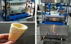Commercial Wafer Coffee Cup Making Machine For Sale
