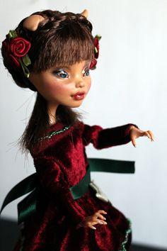 https://flic.kr/p/U97Hrq | Rosemary - custom OOAK Monster High Doll repaint | www.etsy.com/uk/listing/520826468/rosemary-custom-ooak-mo...