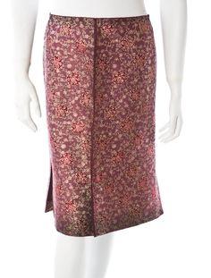 Lace and Brocade  Prada Skirt