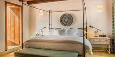 Lujosas habitaciones, Suite del Virrey del Hotel Casa San Agustin en Colombia