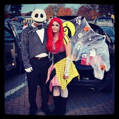 Pin for Later: 100 Creative Couples Costume Ideas Jack and Sally