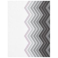 Zigzag Black, Gray, Lavender Colors Fleece Blanket