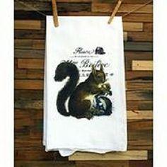 100% Cotton Flour Sack Vintage Design Christmas Towels by MyCookshelf on Opensky