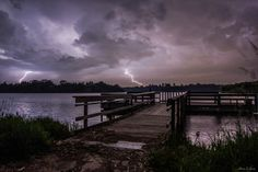 Friday night's storm from Lake Alvin, South Dakota. This is made from my 2 favorite exposures (stacked) from the 376 frame time-lapse I shot.