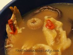 Soup Name:Chicken Fish Stomach Soup  Traditional Chinese Name: 魚胃雞湯 (yú wei ji tāng) Introduction: Fish stomach does not have a strong taste and is usuallycombined with anothermeat, using the ...