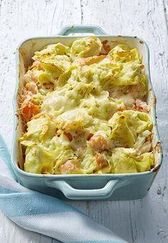 Tortellini, Plats Weight Watchers, Nutrition, Vegetarian Cooking, Ricotta, Pasta Recipes, Food Inspiration, Cauliflower, Macaroni And Cheese