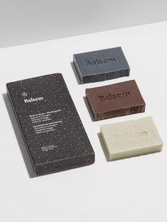 Balsem Identity & Packaging by Edith Morin http://mindsparklemag.com/design/balsem-identity-packaging/