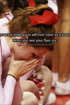 Ughhhhh I Hate it when this happens! Don't people know that cheerleading IS a sport. I am a cheerleader and I am not stupid. Everyone deserves an equal amount of love and respect, cheerleaders have emotion, too. Cheerleading Workouts, Cheerleading Quotes, Cheer Quotes, Cheer Stunts, Cheer Sayings, Sport Quotes, Cheer Base, All Star Cheer, Cheer Mom