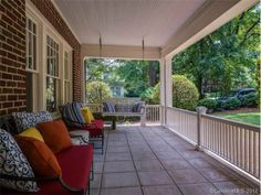 Such an inviting front porch!
