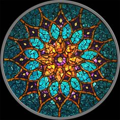 Spring Sun Flower Mosaic